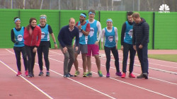 British Royals Make Mad Dash in Charity Relay Race