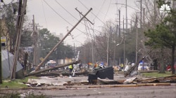 See Damage After Tornado Rips Through South