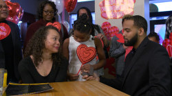 Watch this man surprise his college sweetheart with sweet engagement party