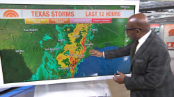 Severe storm headed toward Texas with strong wind gusts, possible flooding
