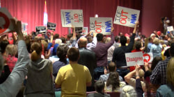 Angry voters lash out against GOP, Trump at town halls for 2nd straight day