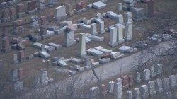Historic Jewish cemetery vandalized amid FBI investigation into Jewish center bomb threats