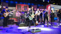 Watch Emily Estefan sing her new single 'Reigns (Every Night)' live on TODAY