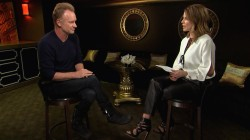 Sting talks about his new music (and Natalie sings backup for him!)