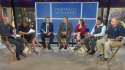 Hear the stories of the veterans behind George W. Bush's 'Portraits of Courage'