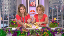 Kathie Lee and Jenna Bush Hager celebrate Mardi Gras (with king cake!)