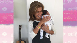 Hoda Kotb and her adopted baby Haley get an outpouring of love