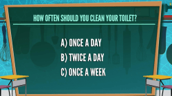 How often should you clean the toilet? 1954 quiz stumps KLG, Hoda