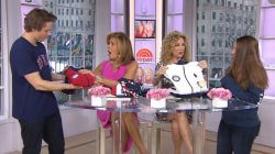 KLG and Hoda check out Team USA's new Olympic gear for Pyeongchang