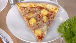 Pineapple on a pizza? Kathie Lee turns thumbs down