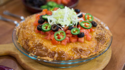 Make Siri Daly's one-dish taco pie recipe!