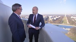 See 'the best view in Washington' with Matt Lauer from top of the US Capitol
