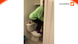 Video of roommates kicking out a rat goes viral