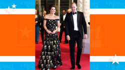 Prince William and Duchess Kate attend Britain's BAFTA Awards