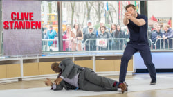 Watch Al Roker tackle a live action stunt with 'Taken' star Clive Standen
