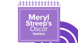 See Meryl Streep's Oscar dress evolution