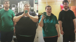 This couple lost nearly 300 pounds!