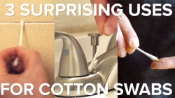 Cotton swabs are oh-so-useful around the house