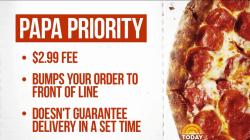 Papa John's is letting customers pay extra to cut ahead in line