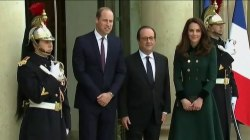 Prince William and his wife, Kate, make first official trip to Paris since Princess Diana's death