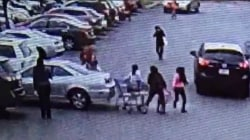 Apparent case of 'parking lot rage' caught on camera
