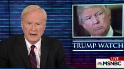 Chris Matthews: This has been a bad week for Trump