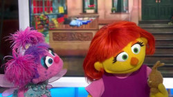 Meet Julia, the first 'Sesame Street' Muppet with autism