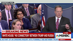 April Ryan on Asking Spicer Russia Question: 'I was Roadkill'