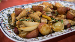 Chicken and potatoes, broccoli rabe: Make them Lidia Bastianich-style