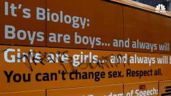 'Free Speech Bus' Carrying Anti-Transgender Message Visits New York City