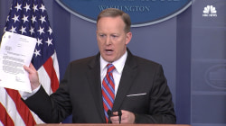 Spicer: '100% False' That WH Blocked Yates Testimony