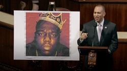 'Where Brooklyn at?' House Floor Rapping Biggie Smalls