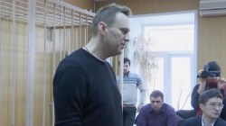 Russian Opposition Leader Jailed Following Protests