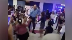 See this father hilariously bust a move at father-daughter dance