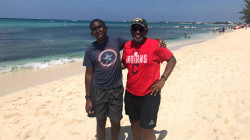 Al Roker shares vacation photo of himself and his son in the Caymans