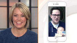 Watch Dylan Dreyer FaceTime with her husband and new baby Calvin