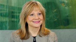Mary Barra, first female auto industry CEO, on women and leadership