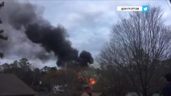 Georgia plane crash: Pilot killed after aircraft spins out of control near Atlanta