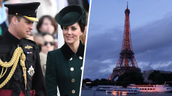 William and Kate visit Paris 20 years after Princess Diana's death