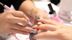 Glitter lips, crystal nails and other International Beauty Show trends