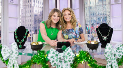 Watch Kathie Lee try on dazzling emeralds for St. Patrick's Day