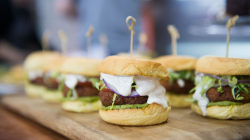 Falafel sliders with avocado hummus: A vegan dish even meat lovers can enjoy