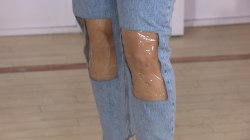 'Clear-Knee Mom Jeans': Are they the bee's knees in fashion?