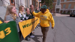 Rokerthon: Al Roker revisits his beloved alma mater, SUNY Oswego