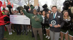 Al Roker and Loyola University Maryland set Guinness record for crabwalking