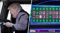 Highs and Lows: Trump's love of trucks, 'Wheel of Fortune' player's 'naked' mistake