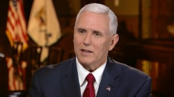 Mike Pence: The Trump I saw last night is the one I've seen all along