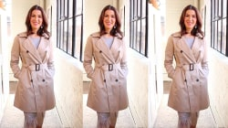 Check out 5 different ways to tie a trench coat