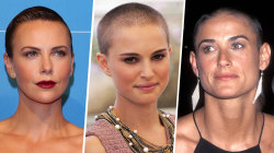 13 kick-butt women who've shaved their heads