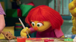 Inspiring America: Julia, an Autistic Muppet, Makes Her TV Debut
